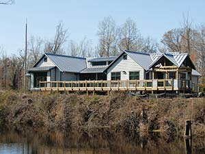 Visitor Center at Dismal Swamp State Park