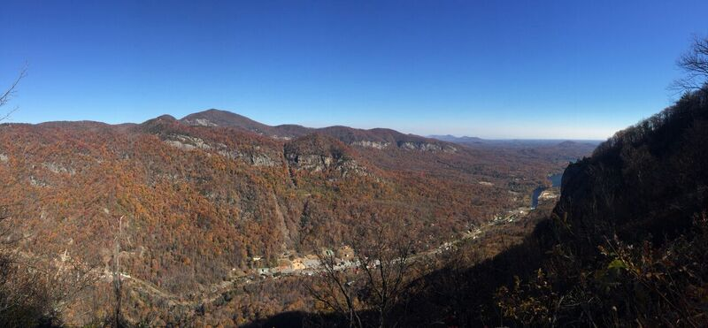 Chimney Rock State Park Skyline Trail