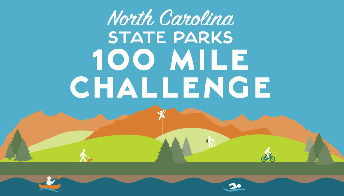 North Carolina State Parks 100 Mile Challenge
