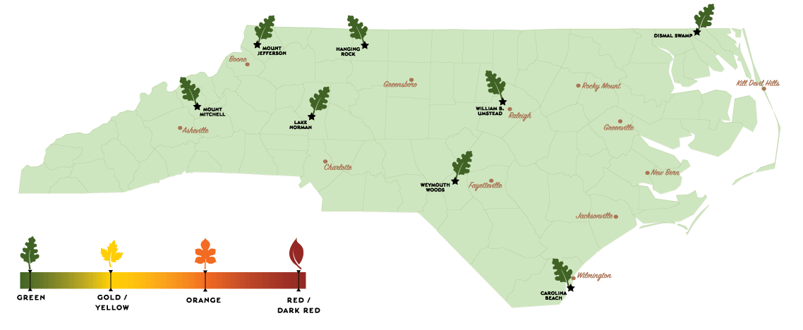 Below The Map We Offer A Listing Of Fall Programs Offered At Our Parks
