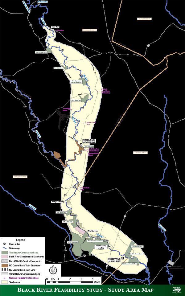 Black River Map