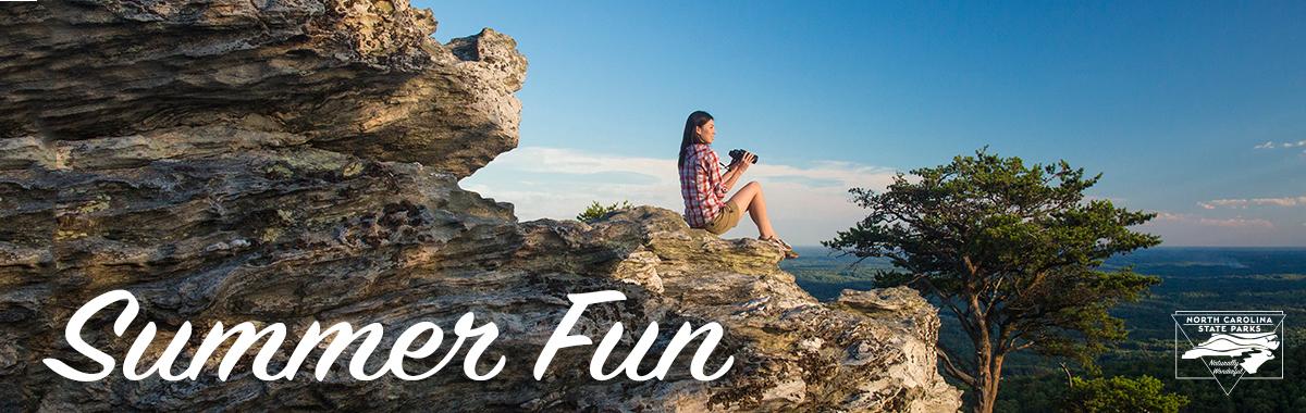 Summer Fun at North Carolina State Park