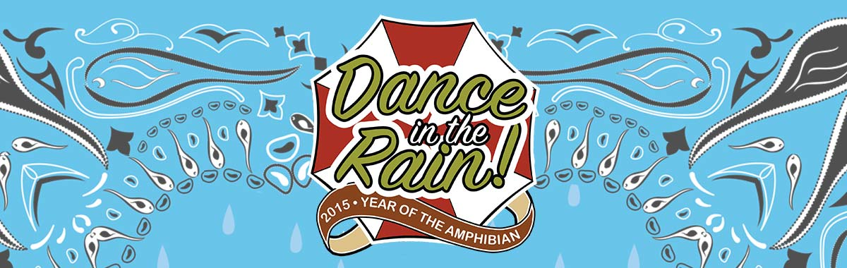 Graphic for 2015 Year of the Amphibian - Dance in the Rain