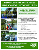 Big Canoe Adventures flyer for schools