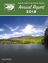 Division of Parks and Recreation Annual Report 2018 cover