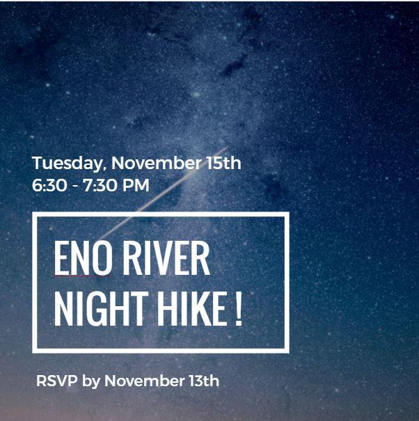 Eno River Night Hike