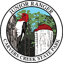 Junior Ranger patch – Carvers Creek State Park