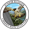 Junior Ranger patch – Chimney Rock State Park