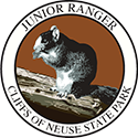 Junior Ranger patch – Cliffs of the Neuse State Park
