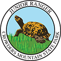 Junior Ranger patch – Crowders Mountain State Park