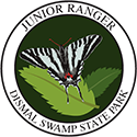 Junior Ranger patch – Dismal Swamp State Park