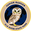 Junior Ranger patch – Elk Knob State Park