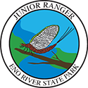 Junior Ranger patch – Eno River State Park