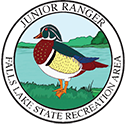 Junior Ranger patch – Falls Lake State Recreation Area