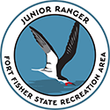 Junior Ranger patch – Fort Fisher State Recreation Area