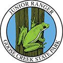 Junior Ranger patch – Goose Creek State Park