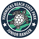 Junior Ranger patch – Hammocks Beach State Park