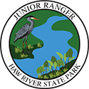 Junior Ranger patch – Haw River State Park