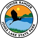 Junior Ranger patch – Jones Lake State Park