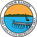 Junior Ranger patch – Kerr Lake State Recreation Area