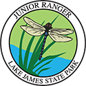 Junior Ranger patch – Lake James State Park