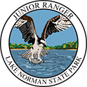 Junior Ranger patch – Lake Norman State Park