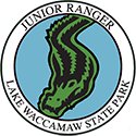 Junior Ranger patch – Lake Waccamaw State Park