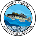 Junior Ranger patch – Mayo River State Park