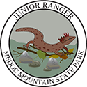 Junior Ranger patch – Medoc Mountain State Park