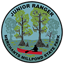 Junior Ranger patch – Merchants Millpond State Park