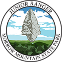 Junior Ranger patch – Morrow Mountain State Park