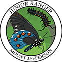 Junior Ranger patch – Mount Jefferson State Natural Area
