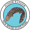 Junior Ranger patch – New River State Park