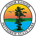 Junior Ranger patch – Pettigrew State Park