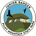 Junior Ranger patch – Pilot Mountain State Park