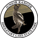 Junior Ranger patch – Singletary Lake State Park