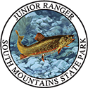 Junior Ranger patch – South Mountains State Park