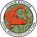 Junior Ranger patch – Stone Mountain State Park