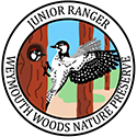 Junior Ranger patch – Weymouth Woods Sandhills Nature Preserve