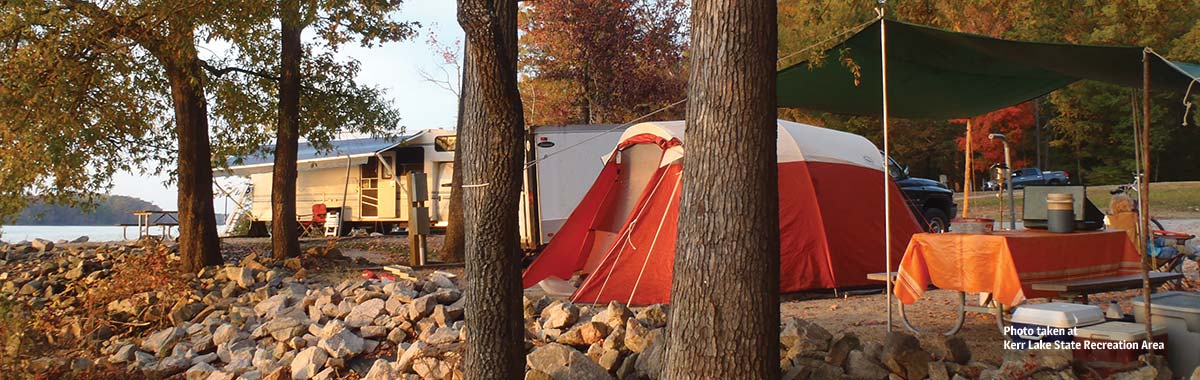 North Carolina State Parks offer a variety of camping experiences, from cabins to primitive hike-in sites