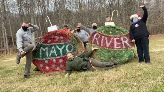 Staff at Mayo River State Park