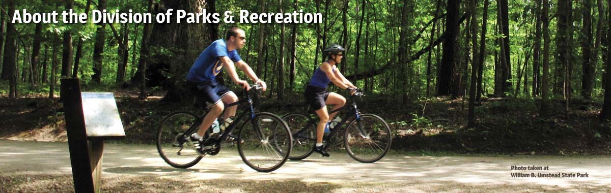 Bicycling at William B. Umstead State Park