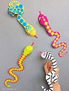 Mr. Printables Snake Finger Puppets