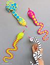 Mr. Printables Snake Finger Puppets