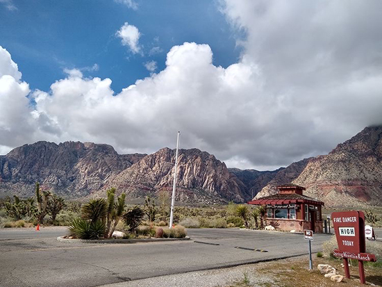 Spring Mountain Ranch State Park in Nevada. Photo courtesy of D. Low.