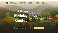 NC State Parks – Year of Fire – Smokey Bear website