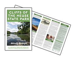 Cliffs of the Neuse State Park brochure screenshot