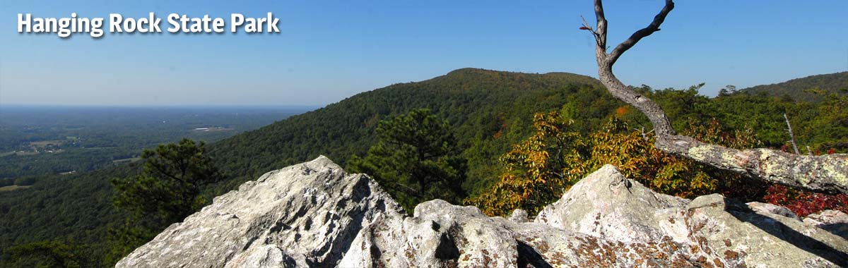 Wolf Rock at Hanging Rock State Park