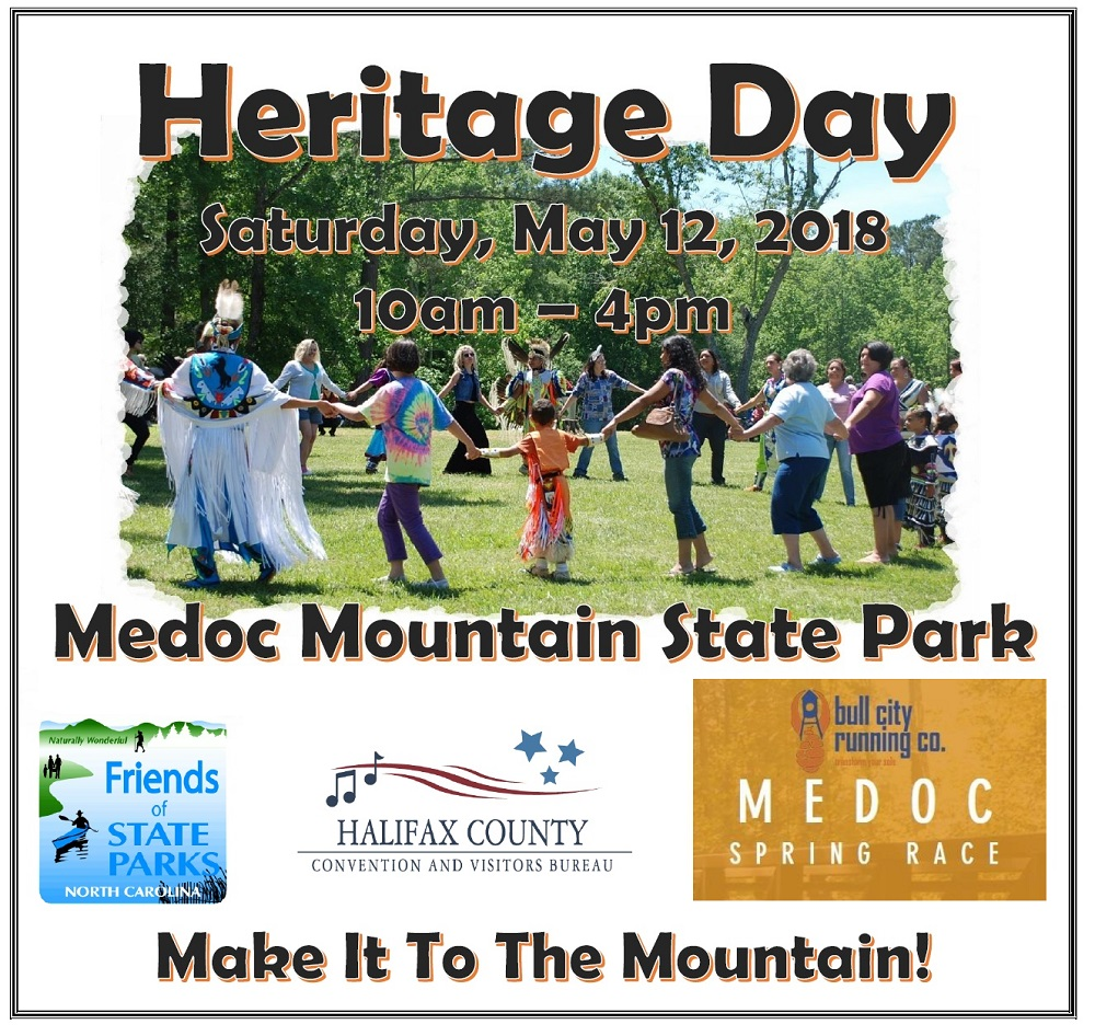 Medoc Mountain Heritage Day Event 2018