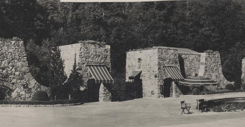 Gatehouses circa 1934